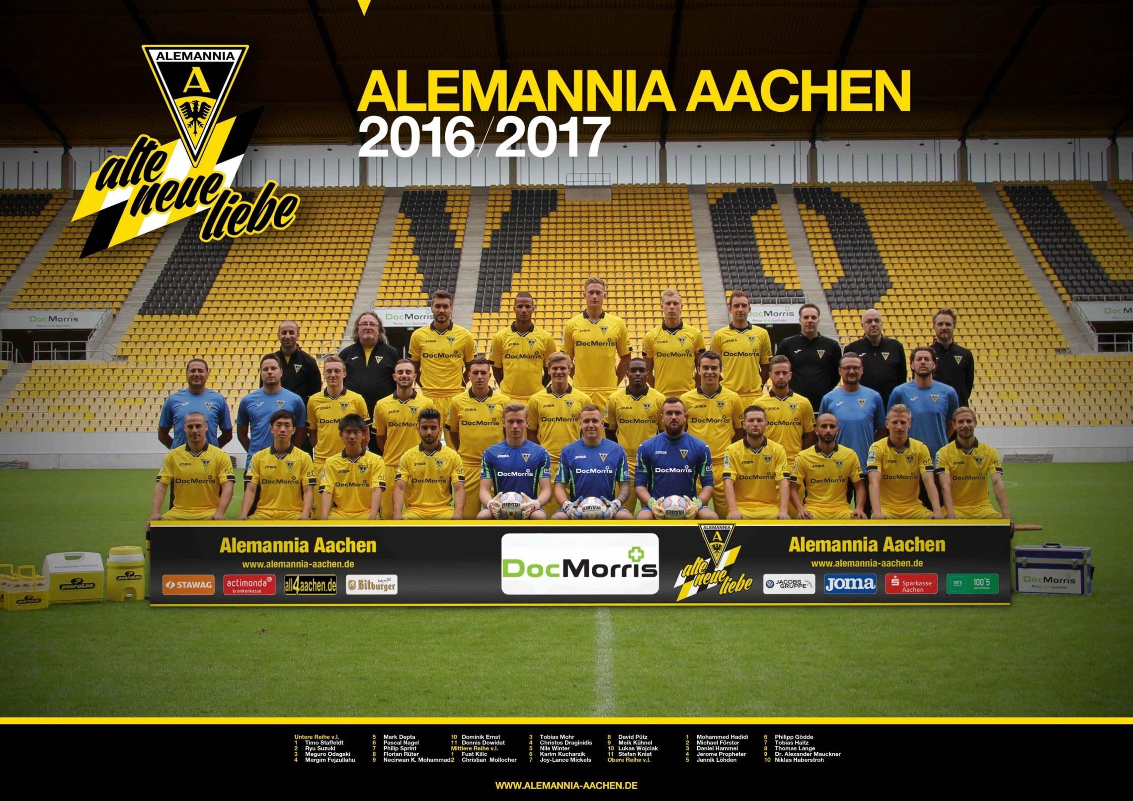 Alemannia Aachen 2016/2017