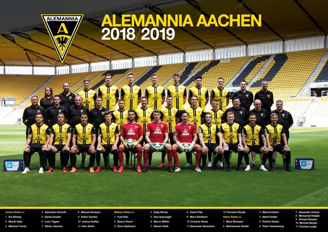 Alemannia Aachen 2018/2019